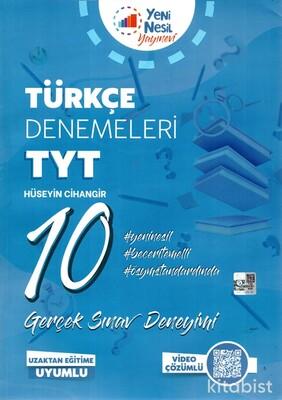 Yeni Nesil Yayınları - TYT Türkçe 10 Deneme Sınavı