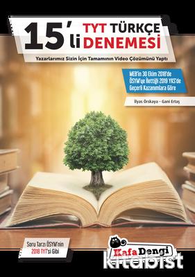 Kafadengi Yayınları - TYT Türkçe 15'li Deneme Sınavı