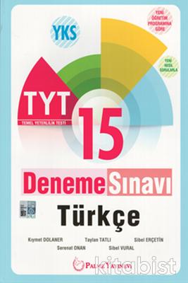 Palme Yayınları - TYT Türkçe 15'li Deneme Sınavı