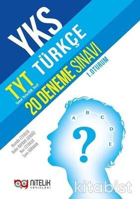 Nitelik Yayınları - TYT Türkçe 20'li Deneme Sınavı
