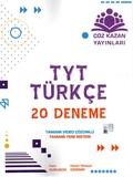 Çöz Kazan Yayınları - TYT Türkçe 20'li Deneme Sınavı
