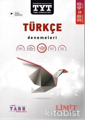 Limit Yayınları - TYT Türkçe 20x40 Denemeleri