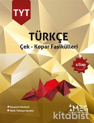 İmes Eğitim Yayınları - TYT Türkçe 4.Etap Çek-Kopar Fasikülleri