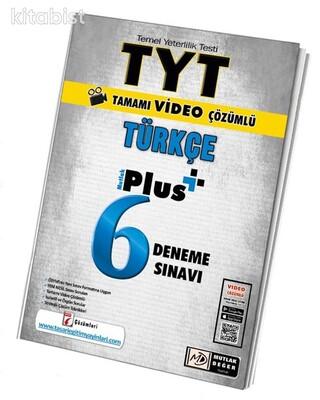 Mutlak Değer Yayınları - TYT Türkçe 6 Plus Video Çöz.Deneme