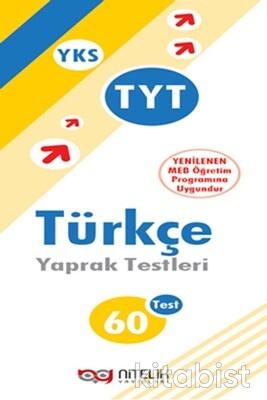Nitelik Yayınları - TYT Türkçe 60'lı Yaprak Test