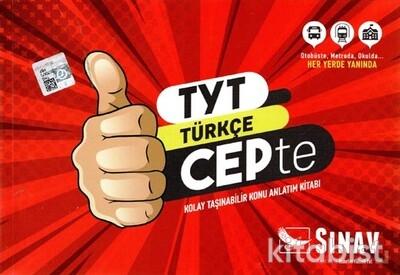 Sınav Yayınları - TYT Türkçe Cepte Konu Anlatımlı
