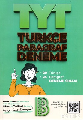Benim Hocam Yayınları - TYT Türkçe Paragraf Deneme