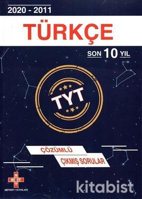 Artınet Yayınları - TYT Türkçe Son 10 Yıl Çözümlü Çıkmış Sorular