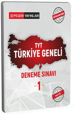 Pegem Yayınları - TYT Türkiye Geneli Deneme Sınavı 1