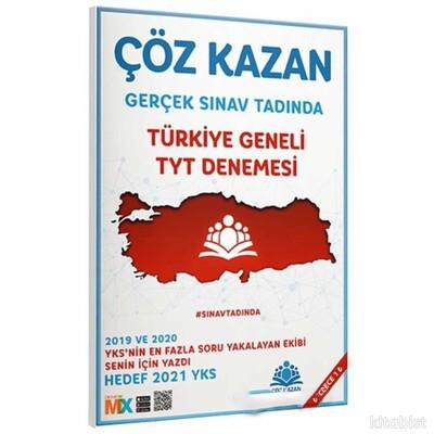 Çöz Kazan Yayınları - TYT Türkiye Geneli Deneme Sınavı