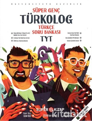 Süper Kitap - TYT Türkolog Türkçe Soru Bankası