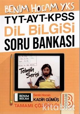 Benim Hocam Yayınları - TYT/AYT/KPSS Dil Bilgisi Soru Bankası