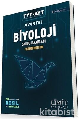 Limit Yayınları - TYT/AYT Avantaj Biyoloji Soru Bankası + Denemeler