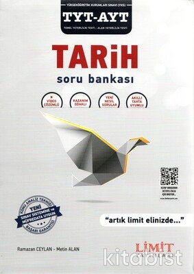 Limit Yayınları - TYT/AYT Tarih Soru Bankası
