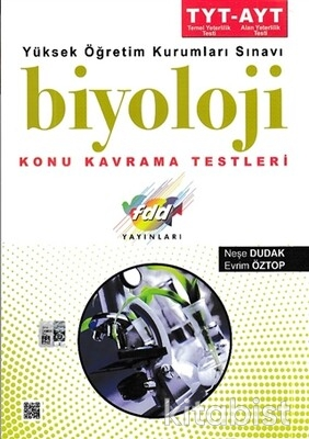 Fdd Yayınları - TYT/AYT Biyoloji Konu Kavrama Testleri