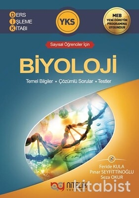 Nitelik Yayınları - TYT/AYT Biyoloji Tersyüz Soru Bankası