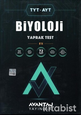 Avantaj Yayınları - TYT-AYT Biyoloji Konu Kazanım Yaprak Test (8 Öğrencilik)