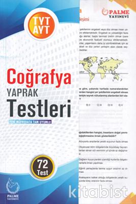 Palme Yayınları - TYT/AYT Coğrafya Yaprak Test