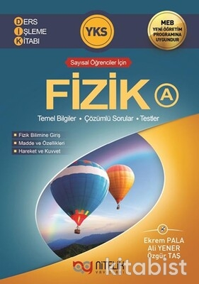 Nitelik Yayınları - TYT/AYT Fizik (A) Ders İşleme Kitabı