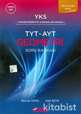 Esen Yayınları - TYT/AYT Geometri Kırmızı Seri Soru Bankası