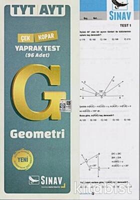 Sınav Yayınları - TYT/AYT Geometri Yaprak Test
