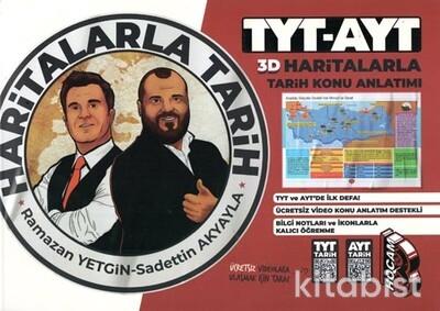 Benim Hocam Yayınları - TYT/AYT Haritalarla Tarih Konu Anlatımı