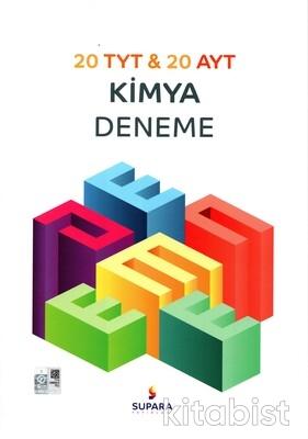 Supara Yayınları - TYT/AYT Kimya Deneme Sınavı (20 TYT + 20 AYT)