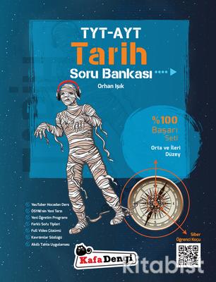Kafadengi Yayınları - TYT/AYT Tarih Soru Bankası - Orta ve İleri Düzey