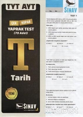 Sınav Yayınları - TYT/AYT Tarih Yaprak Test