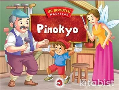 Beyaz Balina Yayınları - Üç Boyutlu Mas./Pinokyo