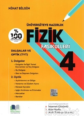 Nihat Bilgin Yayınları - Üniversiteye Hazırlık Fizik Fasikülleri-4