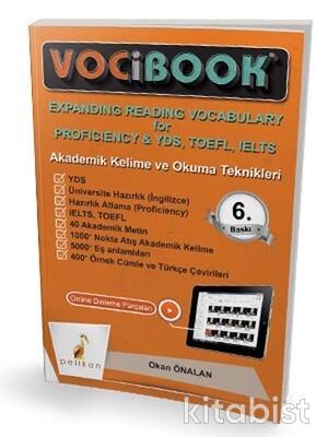 Pelikan Yayınları - Vocibook Akademik Kelime Ve Okuma Teknikleri
