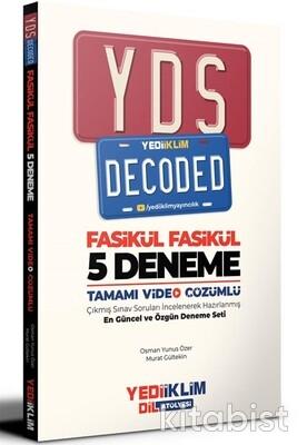 Yedi İklim Yayınları - YDS Decoded Tamamı Video Çözümlü 5 li Deneme