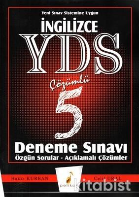 Pelikan Yayınları - YDS İngilizce Çözümlü 5'li Deneme Sınavıı
