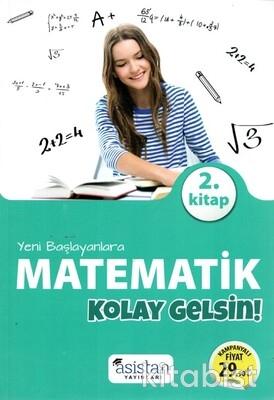 Asistan Yayınları - Yeni Başlayanlara Matematik 2.Kitap