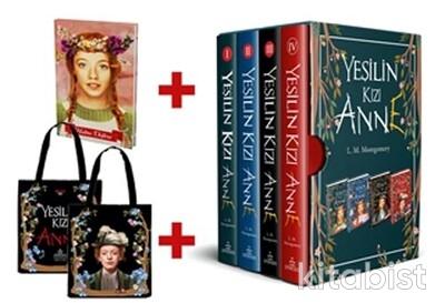 Ephesus Yayınları - Yeşilin Kızı Anne Kutulu 4 Kitap Takım (Ciltli)