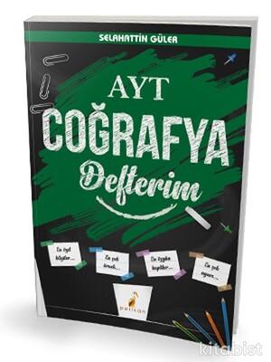 Pelikan Yayınları - YKS AYT Coğrafya Defterim