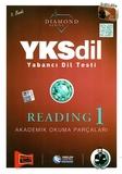 Yargı Yayınları - YKSDİL Yabancı Dil Testi Reading-1 Diamond Series