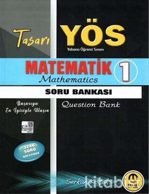 Tasarı Eğitim Yayınları - YÖS 2021 Matematik 1 Soru Bankası