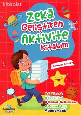 Sancak Çocuk - Zeka Geliştiren Aktivite Kitabım-Kırmızı Kitap