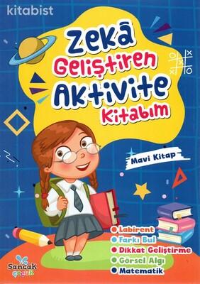 Sancak Çocuk - Zeka Geliştiren Aktivite Kitabım-Mavi Kitap