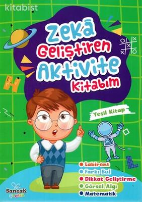 Sancak Çocuk - Zeka Geliştiren Aktivite Kitabım-Yeşil Kitap