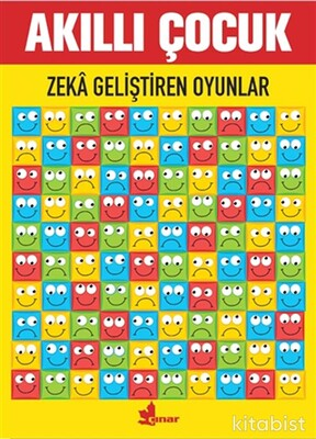 Çınar Yayınları - Zeka Geliştiren Oyunlar - Akıllı Çocuk