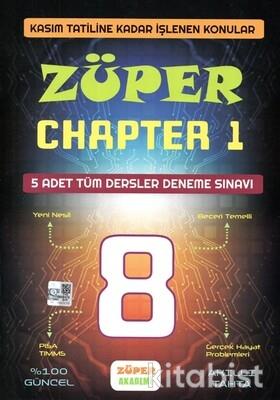 Platon Yayınları - Züper Chapter 1 Tüm Dersler 5 Adet Deneme Sınavı